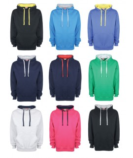 FDM Unisex Contrast Hoodie from