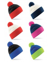 Snowstar Two Tone Beanie from