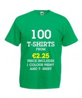 100 T-Shirts from