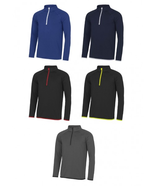 AWD Cool Half Zip from